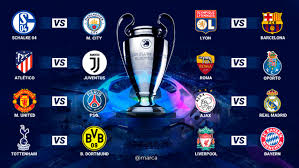 the 2018 19 champions league last 16 draw