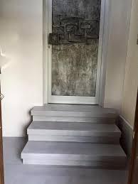 Via estudio levert béton ciré pro, een watervast stucwerk voor (badkamer) vloer en wand, keukenblad, meubels etc. 30m Beton Cire Renovierung Fugenlos Fur Treppen Mikrozement Beton Cire Resina24