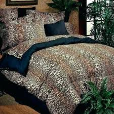 animal print comforter sets leopard mills exotic sheet set queen size