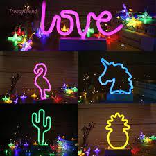 Đèn Led Neon Hình Cây Tre Trang Trí Phòng Ngủ Cho Bé