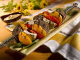 beef kabobs with apricot glaze