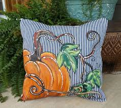 76 best Painted Pillows images on Pinterest