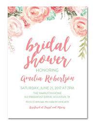 At Home Invitation Printable Bridal Shower Invitations You Can Diy