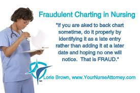 Fraudulent Charting In Nursing Brown Law Office
