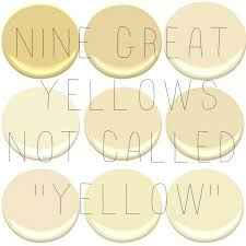9 of the 10 most popular benjamin moore yellows concord ivory desert tan