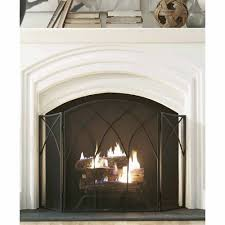 glass fireplace screen. Pleasant Hearth Gothic Fireplace Screen, Black Glass Screen A
