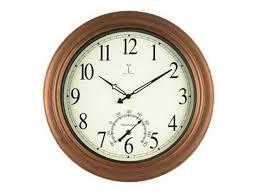 chaney clock 50314 balm antique copper atomix atomic wall clock