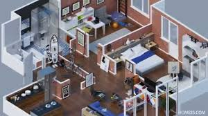 Apartment Designs Shown With Rendered D Floor Plans YouTube - Small apartment floor plans 3d