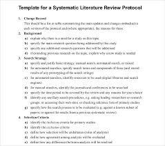 Literature Review Outline 10 Literature Review Outline Templates Pdf Doc Free