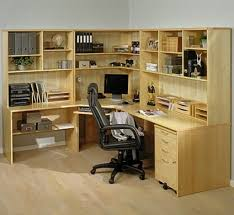 home office units. Appealing Interior Furniture Home Office Corner Unit: Full Size Units