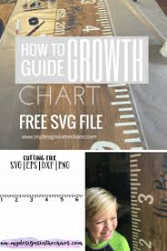 Growth Chart Stencil Designs How To Make A Growth Chart My Designs In The Chaos Growth