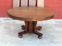 antique round table dining room fancy antique round table for your and chair with design 0