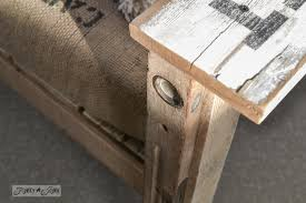 antique level for chair support a cool pallet wood chair anyone can make in a