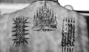 Sak Jan Thajské Magické Tetování I Thajsko A Kambodža