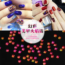 get quotations nail drill nail drill flame lava stone symphony ab rhinestone diy jewelry diamond colorful diamond drill