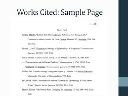 Citing Your Sources In Mla Works Cited Ppt Download