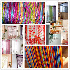 Net Curtains For Living Room String Curtains Patio Net Fringe For Door Fly Screen Windows