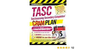 Stay in touch with your account 24/7 with our mobile app. Amazon Com Cliffsnotes Tasc Test Assessing Secondary Completion Cram Plan 9780544373310 Collins Phd Tim Books