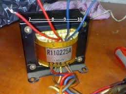 transformer wiring scheme 110 240 To Transformer Wiring i have this transformer from old amp but i cant figure out primer wiring it have 250v and 110v input and i only need 250(240)v but i don't know how to 240 to 110 Transformers Symbols
