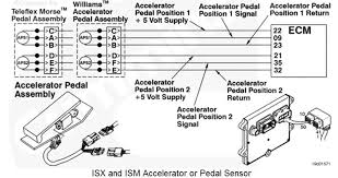t isx cummins code spn fmi we have no throttle the three wires in the accelerator position sensor circuit must be twisted together