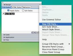 CSS in Dreamweaver MX: External Style Sheets