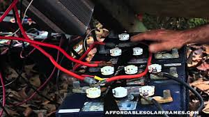 how to connect solar panels to battery bank, charge controller Wiring Up A Solar Panel how to connect solar panels to battery bank, charge controller, inverter wiring up a solar panel to house