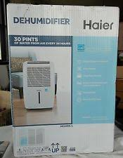 haier 30 pint dehumidifier. haier dehumidifier he30er-l new in box 30 pint haier