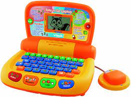 Amazon.com: VTech Preschool Learning Tote and Go Laptop - 2010 Version:  Toys & Games