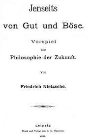 beyond good and evil jenseits von gut und batildeparase 1886 jpg