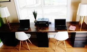 Desk For Two Best Home Office Ideas People 17 About Throughout Inspirations  13