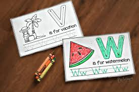 Letter Practicing Free Summer Handwriting Worksheets Preschool Play And Learn