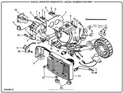 homelite psi2100rt digital inverter generator parts diagram for Inverter 12 Volt Wiring Diagram at Inverter Generator Wiring Diagram