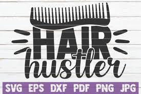20 Funny Hairdresser Svg Designs Graphics