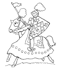 56 Coloring Pages Of Knights