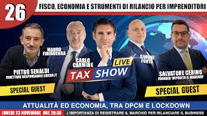 Tax Show Live - con Pietro Senaldi e Salvatore Cerino - CFC Legal - garanti  dell'imprenditore