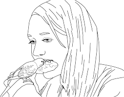 Parakeet Coloring Pages