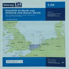 Dover Strait Chart Imray Chart C30 Harwich To Hoek Van Holland And Dover Strait