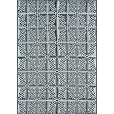 baja navy 2 ft x 5 ft indoor outdoor area rug