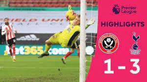 HIGHLIGHTS] คลิปไฮไลท์การแข่งขันฟุตบอลพรีเมียร์ลีก สัปดาห์ที่ 19 เชฟฟิลด์  ยูไนเต็ด 1- 3 สเปอร์ส - YouTube