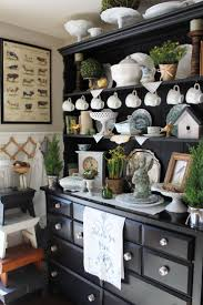 Best Hutch Display Ideas On Pinterest China Cabinet Display