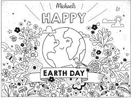 Small Picture Earth Day Coloring Page The Glue String
