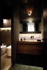 bathroom minimalist design. Beautiful Italian Design In Doria Interior: Amazing Floating Wooden Vanity The Bathroom With Minimalist. « Minimalist