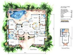 Creating Luxury House Plans in Cheap Cost   AyanaHouseluxury house plans   pools