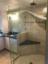 custom multiple angles glass shower enclosure