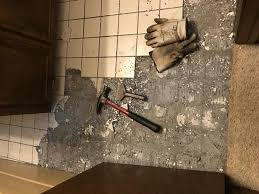 ceramic tile cement board removal