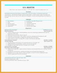 Administrative Assistant Sample Resume Custom Administrative Assistant Resume Samples Inspirational Administrative
