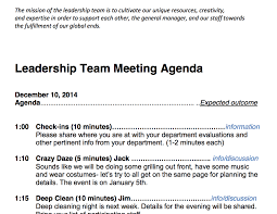 Meeting Outline Sample Team Meeting Agenda Sample CDS CC Library 18