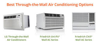 air conditioning options. your best through-the-wall air conditioning options o