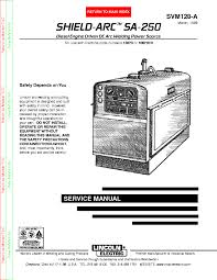 lincoln electric svm a power mig xt service manual lincoln