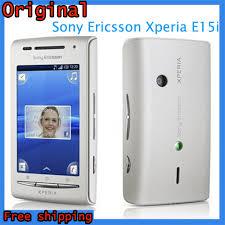 sony ericsson xperia x8. e15i original sony ericsson xperia x8 3g 3 15mp wifi gps bluetooth unlocked mobile phone
